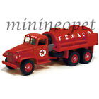 JOHNNY LIGHTNING JLTX003 1940 GMC CCKW 6X6 TANKER TEXACO 1/64 DIECAST MODEL RED