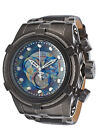 New Invicta Reserve 53mm Bolt Zeus Swiss Chronograph Leather Strap Watch 15968