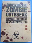 NEW SURVIVING THE ZOMBIE OUTBREAK DECK PLAYING CARDS SEALED ZOMBIE SURVIVAL