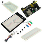 MB102 400 830 Point Breadboard 1660 Power Supply module W Jump Wire For Arduino
