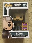 OFFICIAL SDCC EXCLUSIVE 2017 FUNKO POP STAR WARS ROGUE ONE BODHI ROOK