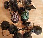 Vintage Noma Patio Party Lantern String Lights RV Camping Colored Retro 2 SETS