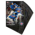 2016 TOPPS NOW CHICAGO CUBS WIN! -WORLD SERIES CHAMPS SET BRYANT RIZZO SCHWARBER