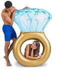 NEW BigMouth Diamond Ring Inflatable Pool Float Summer Fashion Party Toy Float
