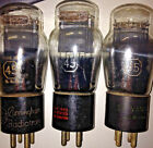 45 RCA PAIR incld Cunningham + 1 Sylvania RARE Vintage tubes 3 total US Made