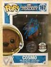 Stan Lee Signed Autographed Cosmo Funko Pop Marvel Guardians JSA COA