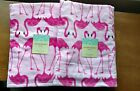 1 Cynthia Rowley Pink Flamingos beach towels cotton  36