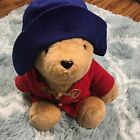 Eden Toys Inc Paddington Bear Stuffed Animal Green Hat  Red Coat 15 Tall