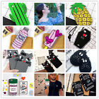 3D Cartoon Cute bottle cactus Silicone Phone Case Cover Back For iPhone 7Plus US