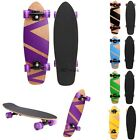 27 Cruiser Style Skateboard Wooden Deck Skate Board Frosting UnisexNew01