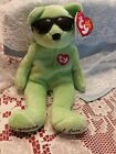 Ty Beanie Baby Summertime Fun - MWMT (Bear Green Atlanta Gift Show Exclusive 200