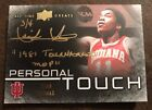 2013 UD All-Time Greats Isiah Thomas Personal Touch 1981 TOURNAMENT MVP AUTO 3 4