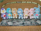 Lot of 8 Vintage Care Bears Plush Cousins 1980s Grumpy Cheer Champ Friend Wish..
