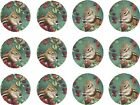 chipmunk stickers seals embellishments 125 round 300 750 free shipping KR