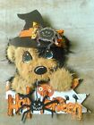 Halloween Tear Bear 2 DOGs EMBELLISHMENT FOR PREMADE PAGES  CARD BORDER MARYS