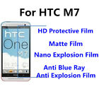3pcs For HTC M7 Good Touch MatteAnti Scratch High Clear Screen Film