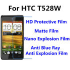 3pcs For HTC T528W Good Touch MatteAnti Scratch High Clear Screen Film