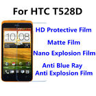 3pcs For HTC T528D Good Touch MatteAnti Scratch High Clear Screen Film