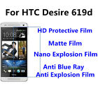 3pcs For HTC Desire 619d Good Touch MatteAnti Scratch High Clear Screen Film
