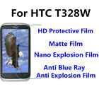 3pcs For HTC T328W Good Touch MatteAnti Scratch High Clear Screen Film