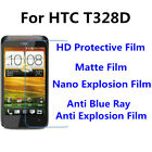 3pcs For HTC T328D Good Touch MatteAnti Scratch High Clear Screen Film