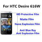 3pcs For HTC Desire 616W Good Touch MatteAnti Scratch High Clear Screen Film