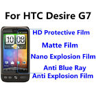 3pcs For HTC Desire G7 Good Touch MatteAnti Scratch High Clear Screen Film