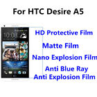 3pcs For HTC Desire A5 Good Touch MatteAnti Scratch High Clear Screen Film