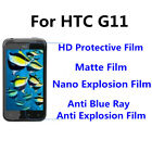 3pcs For HTC G11 Good Touch MatteAnti Scratch High Clear Screen Film