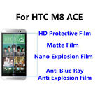 3pcs For HTC M8 ACE Good Touch MatteAnti Scratch High Clear Screen Film