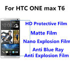 3pcs For HTC ONE max T6 Good Touch MatteAnti Scratch High Clear Screen Film