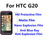 3pcs For HTC G20 Good Touch MatteAnti Scratch High Clear Screen Film