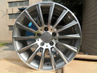 22 STAGGERED MERCEDES BENZ GREY TURBINE AMG STYLE RIMS WHEELS FOR S CLASS W221