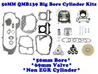 100cc BIG BORE KIT FOR CHINESE SCOOTER NON EGR 69mm VALVES 139QMB 50mm