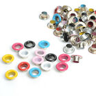 100x Metal eyelet Scrapbooking DIY Embelishment Garments Clothes Buckle Apparel