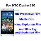 3pcs For HTC Desire 620 Protect Anti Blue RayGood Touch MatteHigh Clear Film