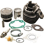 Fit Polaris Scrambler Predator 50cc ATV Cylinder Piston Rings Gasket Top End Kit