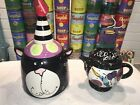 Whimsical MADE WITH LOVE JOANNE DELOMBA Cat Cookie Jar  RSVP Teapot