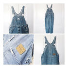 Vintage Calvin Klein CK Blue Denim Carpenter Bib Overalls Size XL Extra Large