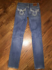 26 x 32 Womens Big Star Vintage Collection Nico Distressed Straight Leg Jeans