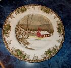 Johnson Bros Friendly Village Dinner Plate The School House 10 1/2