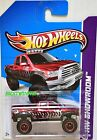 HOT WHEELS 2013 SUPER TREASURE HUNT 10 TOYOTA TUNDRA CARD VARIATION