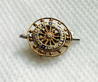 14K Gold Antique Daughters of The American Revolution DAR Insignia Pin