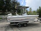 TRIUMPH 210 CENTER CONSOLE FISHING  FAMILY FUN BOAT 4 STROKE HONDA RUNS PERFECT