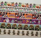 6 yards Mixed Lot Halloween Inspired grosgrain Ribbon 7 8 and 1