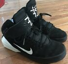 Nike Boys KD Black And White Hi Top Shoes Youth Size 6