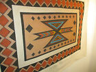 Drop cloth tribal tapestry of native southwestern wall decor