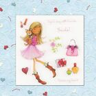 Clear Sheet Cards Flower Girl Silicone Rubber Transparent Stamps Scrapbooking