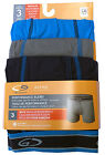 C9 By Champion BOYS Boxer Briefs 3 Pack DUO DRY  ACTIVE PREFORMANCE NEW