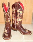 Macie Bean Chocolate Rosa Lee Boots S Toe Womens SZ 6M NEW See Details